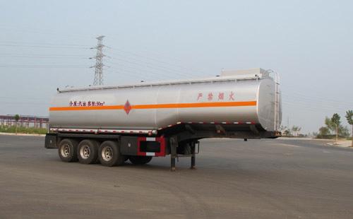 易燃液体罐式运输半挂车(ALA9405GRY型易燃液体罐式运输半挂车)