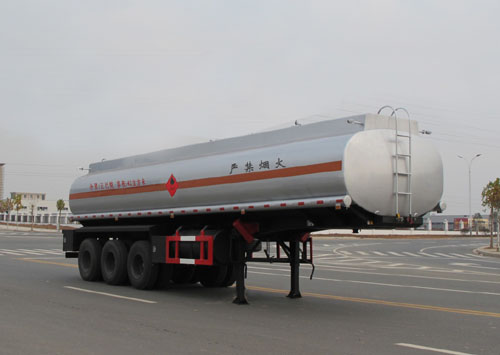 易燃液体罐式运输半挂车(ALA9404GRY型易燃液体罐式运输半挂车)