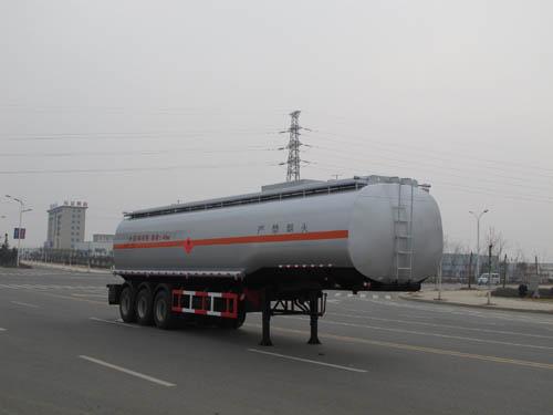 易燃液体罐式运输半挂车(ALA9406GRY型易燃液体罐式运输半挂车)