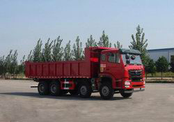 豪瀚16吨  前四后八 310马力柴油自卸车图片