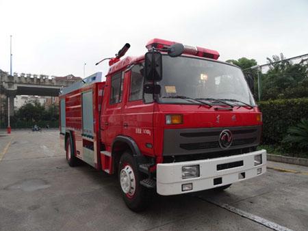 银河5吨水罐消防车