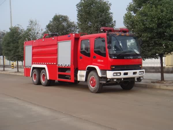 JDF5252GXFPM110泡沫消防車
