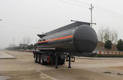SCS9401GFW 28.1方盐酸腐蚀性物品罐式运输半挂车