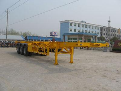 CLW9400TJZG型集装箱运输半挂车