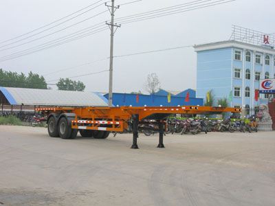 CLW9350TJZG型集装箱运输半挂车