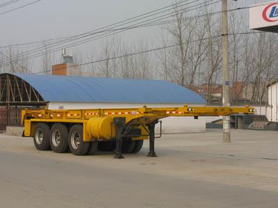CLW9401TJZG型集装箱运输半挂车