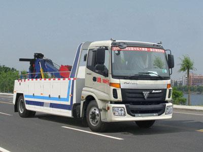 CLW5160TQZB4欧曼福田拖吊连体型清障车