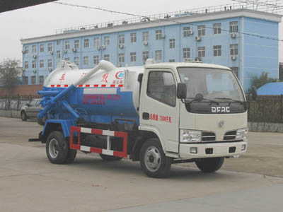 东风小多利卡-4立方(吨)吸污车