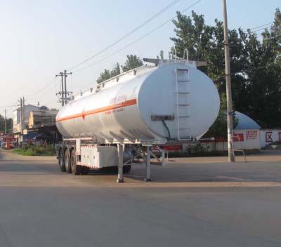 CLW9403GRYA铝合金易燃液体罐式运输半挂车
