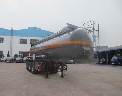 CLW9405GFW腐蝕性物品罐式運輸半掛車