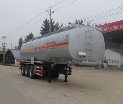 罐体容积:45立方运油半挂车
