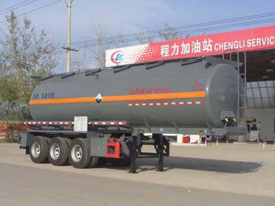 CLW9400GFWA型腐蚀性物品罐式运输半挂车