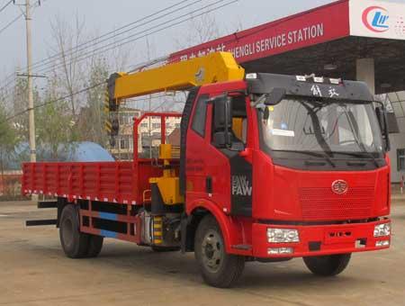 CLW5162JSQC4型随车起重运输车