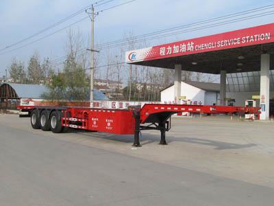 CLW9402TJZ型集装箱运输半挂车