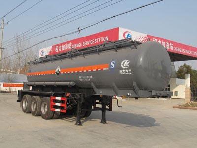 CLW9401GFWB型腐蚀性物品罐式运输半挂车