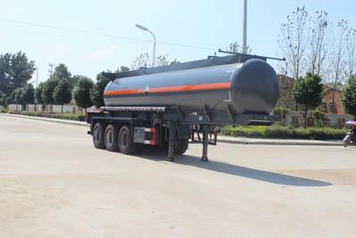SCS9403GFW 19.9方氢氧化钠溶液罐式运输半挂车