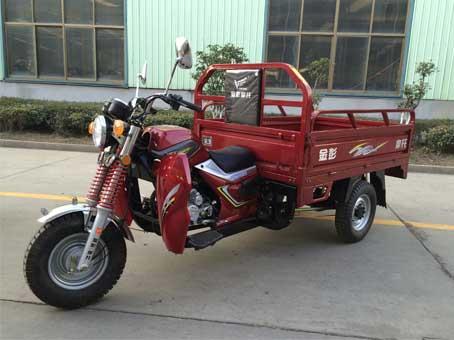 金彭正三轮摩托车