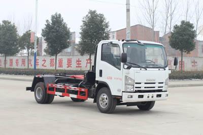 SCS5090ZXXQL五十铃车厢可卸式垃圾车|勾臂垃圾车
