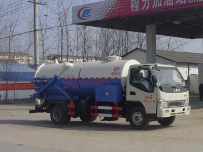 清洗吸污車(CLW5081GQW4型清洗吸污車)