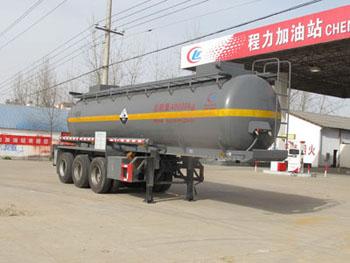 CLW9404GFWB型腐蚀性物品罐式运输半挂车