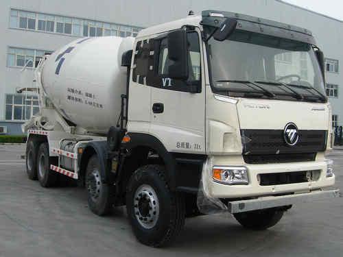 BJ5318GJB-XA欧曼 16方混凝土搅拌车