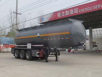 CLW9406GFWB型腐蚀性物品罐式运输半挂车