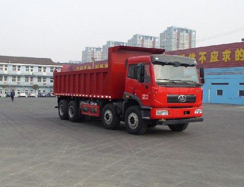 CA3310P2K2L5T4NA80平头液化天然气自卸汽车图片