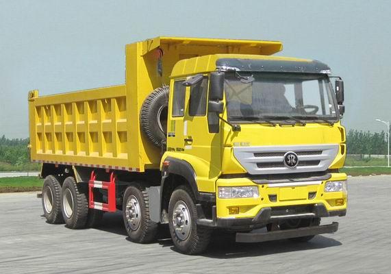 斯太尔16吨 前四后八 280马力 柴油自卸车图片