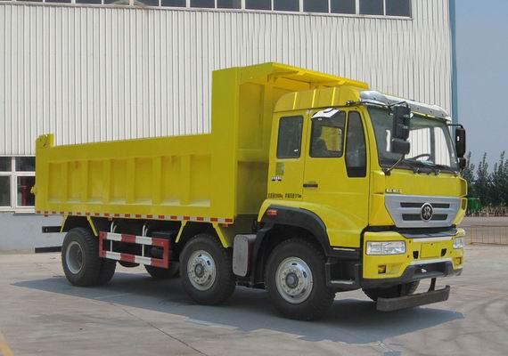 斯太尔13吨 前四后四 239马力 柴油自卸车国四排放图片