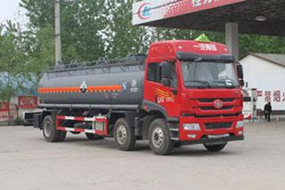 CLW5256GFWC4腐蝕性物品罐式運輸車