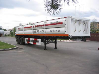 高压气体运输半挂车图片