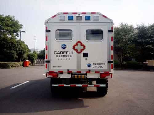 废旧纸盒手工制作救护车
