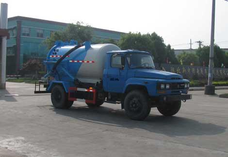 东风140沼气池吸污车图片
