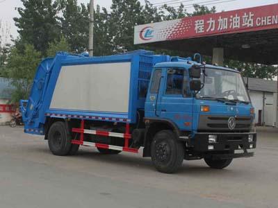CLW5166ZYST4型压缩式垃圾车
