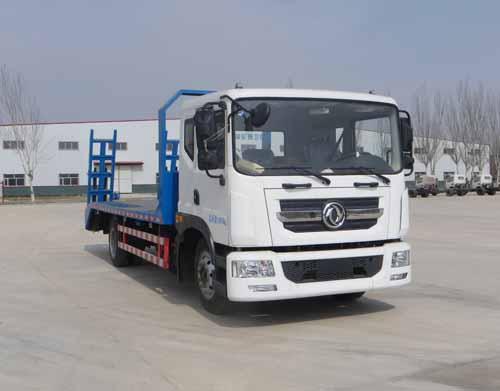 HLQ5140TPBD4平板运输车,东风新款多利卡平板运输车