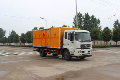 SCS5160XRYD型易燃液体厢式运输车