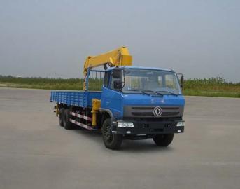 石煤牌8吨随车起重运输车图片
