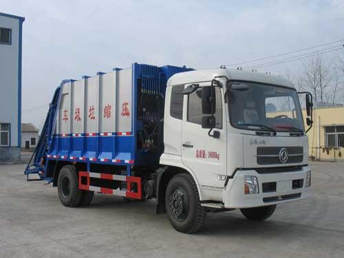 压缩式垃圾车(CSC5160ZYSD4型压缩式垃圾车)