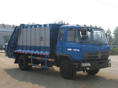 压缩式垃圾车(CLW5120ZYST4型压缩式垃圾车)