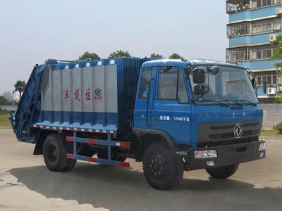 压缩式垃圾车(CLW5121ZYST4型压缩式垃圾车)