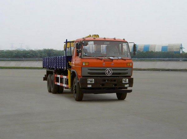 华神牌7吨随车起重运输车图片