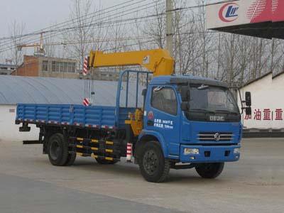 CLW5090JSQ4型随车起重运输车