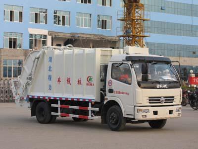 CLW5080ZYS4型压缩式垃圾车