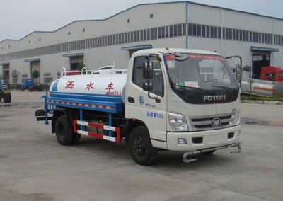 神狐牌4噸灑水車(HLQ5060GSSB)起主導力量灑水車的主力軍