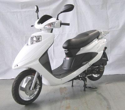 雅迪牌yd125t-4b型两轮摩托车