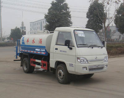 神狐牌2方灑水車(HLQ5045GSSB)節省客戶成本,滿足客戶環境需求!