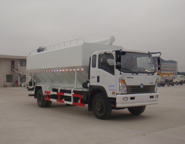 HLQ5150ZSLW型散裝飼料運輸車