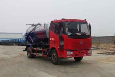 CLW5120GXWC4型吸污车