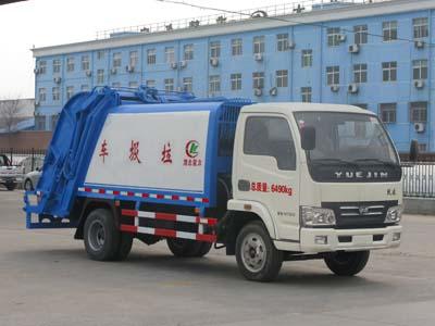 CLW5060ZYSN4型压缩式垃圾车