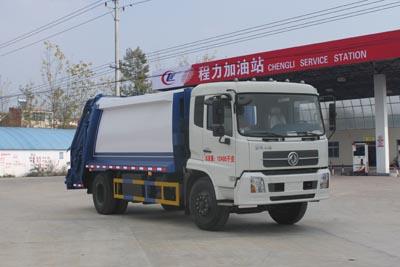 CLW5120ZYSD4型压缩式垃圾车